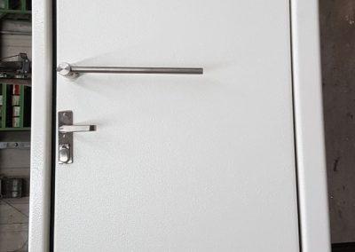 Druckdichte Schutztür mit Fenster