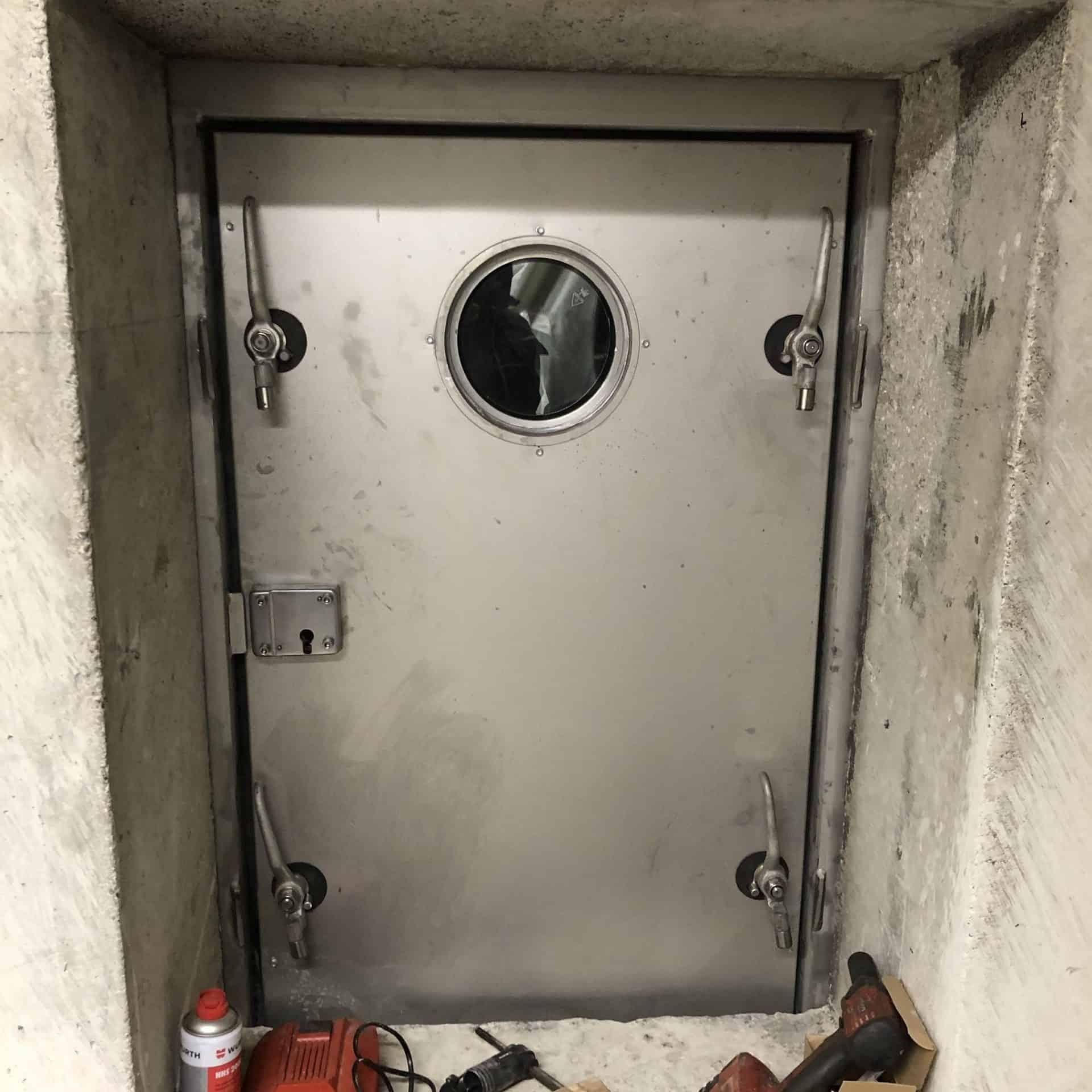 druckdichte Tür für Ariane